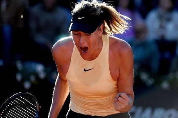 Sharapova thắng trận ra quân tại Italy Mở rộng