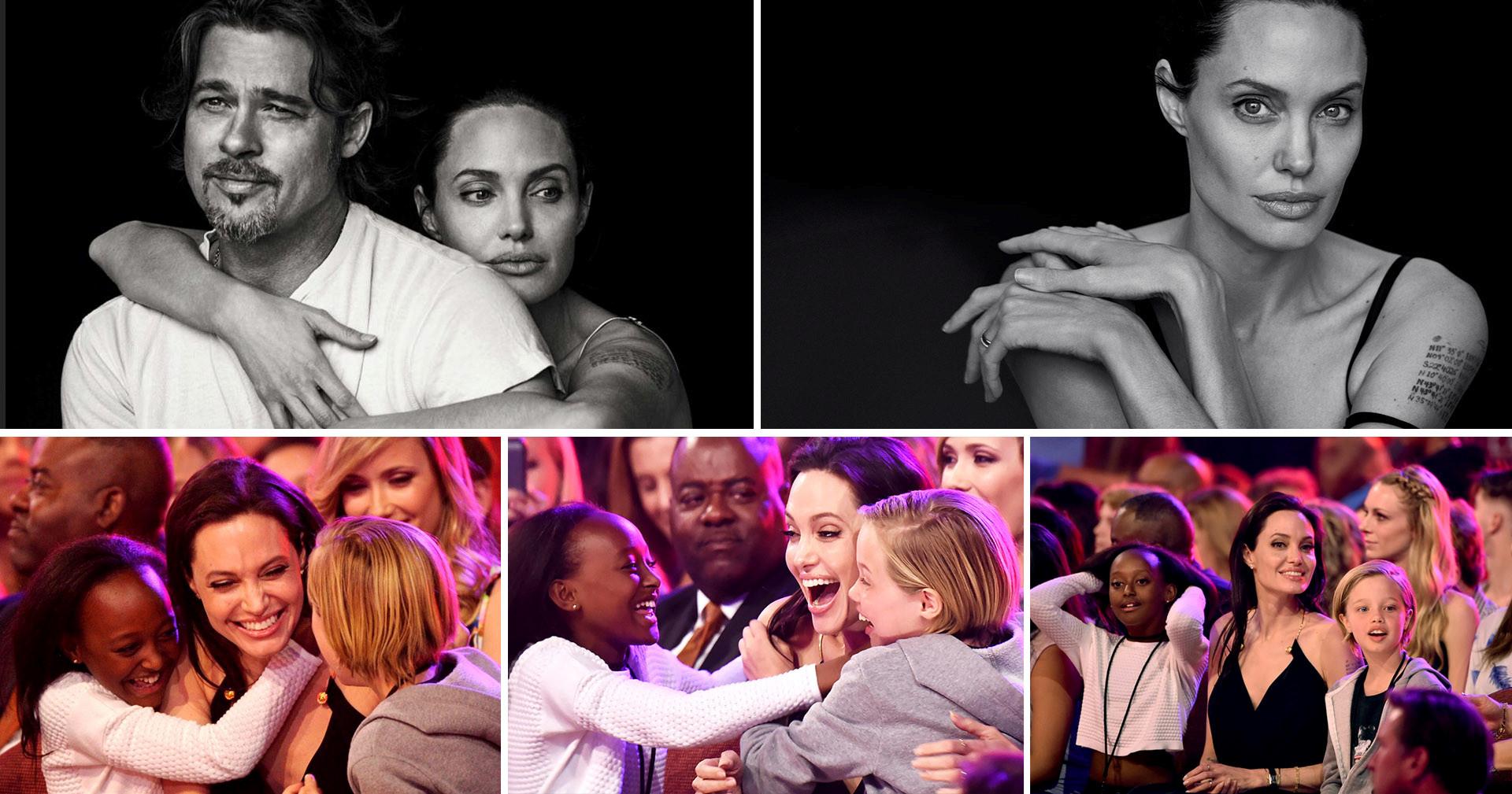 Angelina Jolie: Ba me don than va cuoc song khong bao gio binh thuong hinh anh 6
