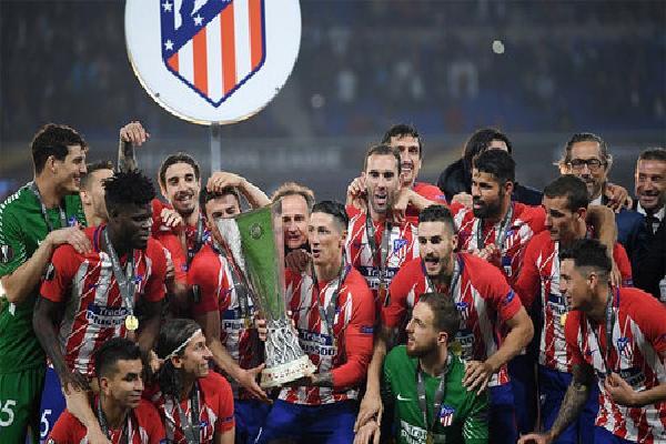 Atletico lên ngôi Europa League bằng trận đại thắng Marseille