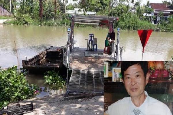Bắt nghi phạm chém vợ rơi xuống sông rồi gọi con về vớt xác