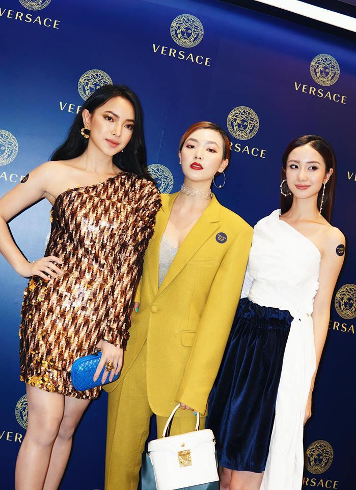 Chọn đồ lệch dáng và phụ kiện sai bét, Châu Bùi thất thế hoàn toàn trước Hoa hậu Hương Giang - Ảnh 1.