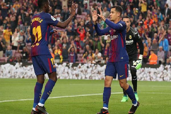 Barca đè bẹp Villarreal, tiến gần đến mùa giải bất bại ở La Liga
