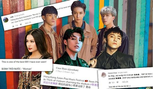Khi sao Việt khiến fan 'nở mũi' vì được khán giả quốc tế... 'khen lên mây'