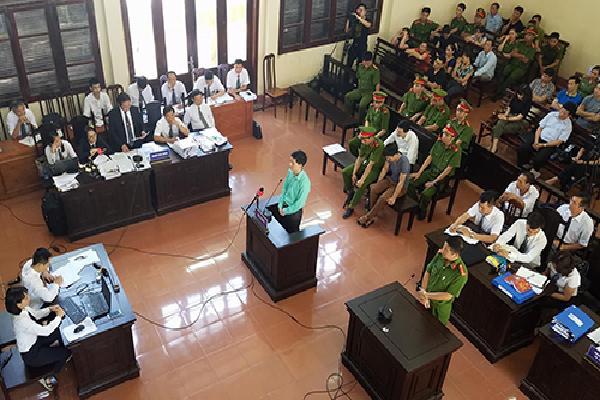 Hoàng Công Lương thừa nhận ghi lời khai theo 'bản mẫu' của điều tra viên