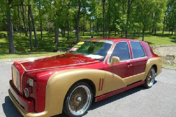 Phục chế xe cũ theo phong cách Rolls-Royce Phantom 'Iron Man'