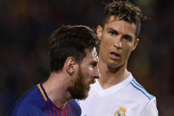 Messi và Ronaldo ghi tròn 1.000 bàn cho Barca và Real