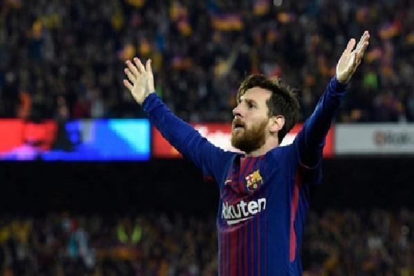 Chiếc Giày Vàng châu Âu coi như thuộc về Messi