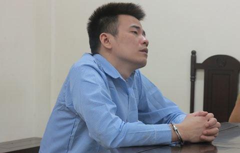 Bị cáo Nguyễn Duy Linh tại tòa