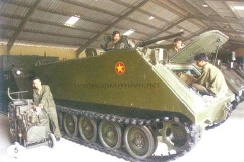 Chiến lợi phẩm đặc biệt của Việt Nam: Thiết giáp M113 phun lửa