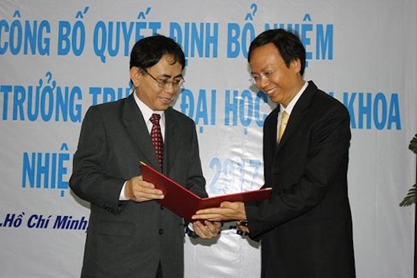 PGS 46 tuổi làm Hiệu trưởng Trường ĐH Bách khoa TP.HCM