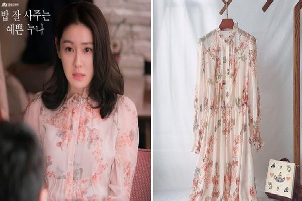 Váy hoa nhái theo váy của chị đẹp' Son Ye Jin giá chỉ 2 triệu VNĐ đang hot nhất tại Hàn Quốc