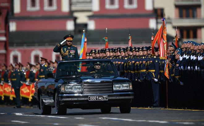 VIDEO TRỰC TIẾP lễ Duyệt binh Chiến thắng 2018 ở Nga