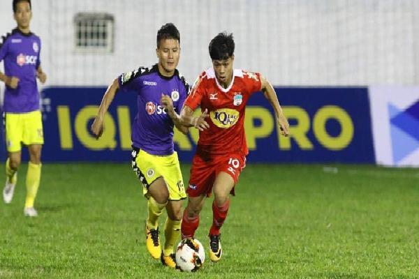 Công Phượng, Quang Hải cùng ghi bàn, HAGL hoà Hà Nội trong thế trận kịch tính