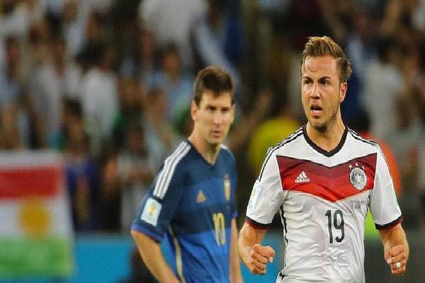 'Cậu bé vàng' Mario Gotze bị loại khỏi đội tuyển Đức