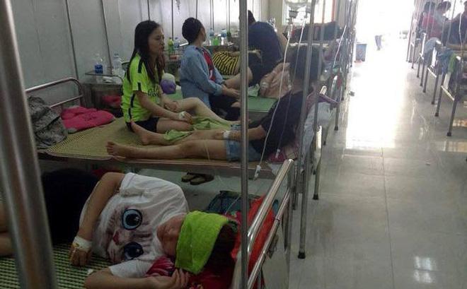 Các sinh viên điều trị tại bệnh viện.