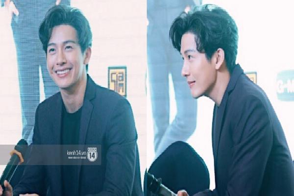 Phỏng vấn tài tử điển trai Thái Push Puttichai tại Việt Nam: Tiết lộ tính cách thật ngoài đời và chuyện tình cảm với Jooy