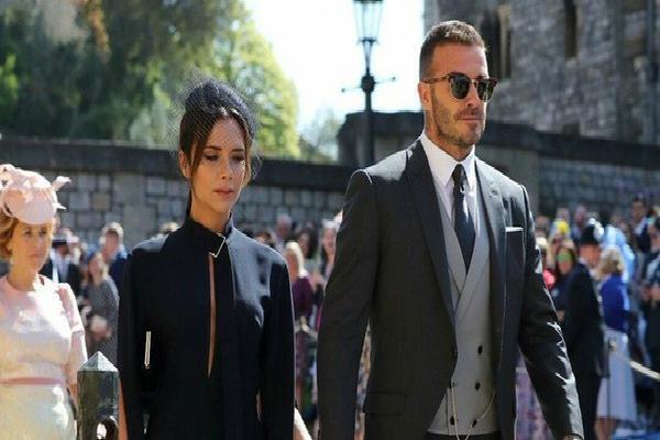 Vợ chồng Beckham đẹp và khí chất lấn át cả cô dâu chú rể tại đám cưới Hoàng gia