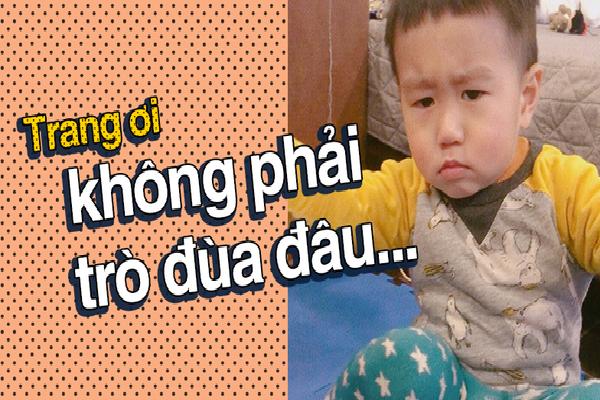 Nhật ký sắp 2 tuổi bằng 'meme' đầy khí chất của Nguyễn Tùng Xoài - con trai Trang Lou và Tùng Sơn