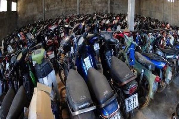 3 xe máy vi phạm 'bốc hơi' bí ẩn tại Đội CSGT Cát Lái