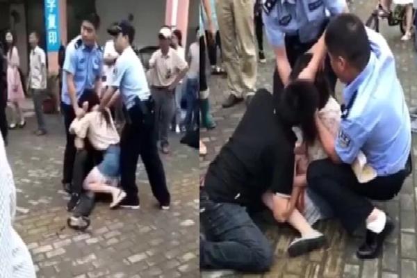 Trung Quốc: Cô gái bất ngờ cắn chặt lưỡi bạn trai khi đang hôn nhau, cảnh sát phải xịt hơi cay vào mặt mới chịu nhả