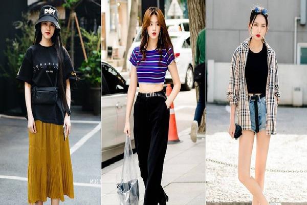 Chỉ diện toàn đồ mà ai cũng có sẵn nhưng giới trẻ Hàn vẫn hô biến nên street style quá 'đỉnh'