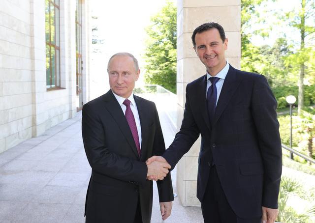 Tổng thống Assad tới nhà riêng của ông Putin để cám ơn Nga