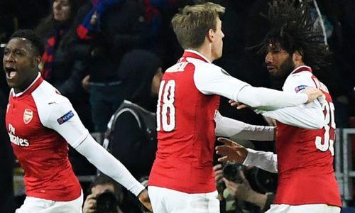 KẾT QUẢ Arsenal vs CSKA Moscow: Thầy trò Wenger suýt đi theo vết xe đổ của Barca