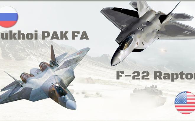 F-22 của người Mỹ có thắng được Su-57?