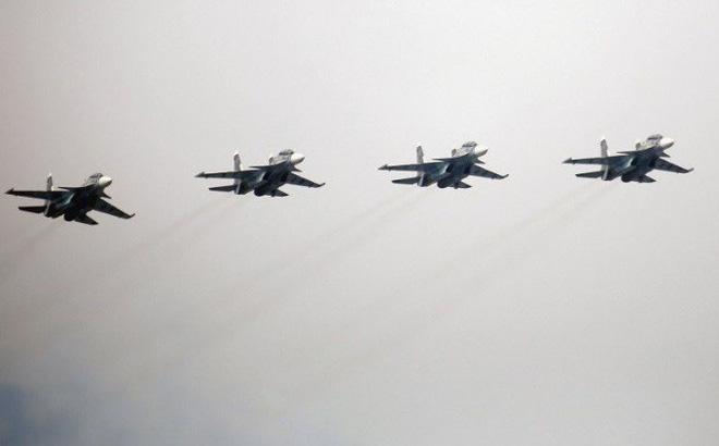 Su-30SM Hải quân Nga đột ngột có mặt ở Syria: Sẵn sàng hủy diệt tàu sân bay Mỹ?