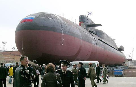 Hải quân Nga tiếp nhận tàu ngầm nguyên tử Tula và khí tài phục vụ chiến đấu