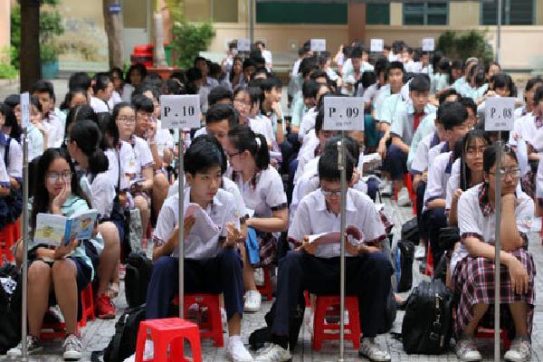 Trường Phổ thông Năng khiếu có tỷ lệ 1 chọi 5