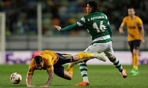 KẾT QUẢ Sporting Lisbon vs Atletico: Cảm hứng từ đêm Olympico, đại gia lép vế