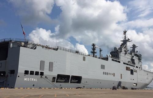 Tàu sân bay trực thăng Pháp sẽ thăm Việt Nam năm thứ ba liên tiếp