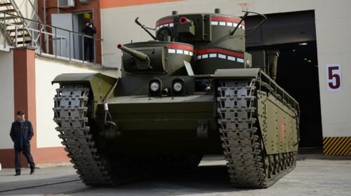 Nga hồi sinh xe tăng 'khủng' dùng động cơ máy bay